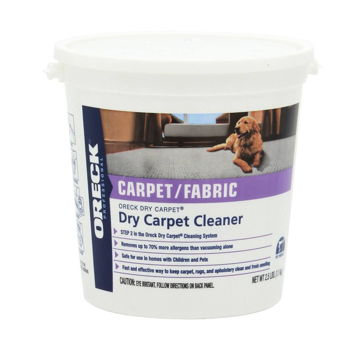 Oreck Dry Carpet Cleaning Powder
