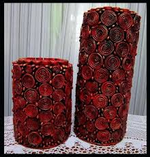 Art And Craft For Kids With Newspaper Step By How To Make Vase From Tubes Homemade Gifts Girlfriend