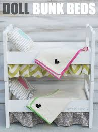 awesome diy doll bed tutorial everything from the frame to the