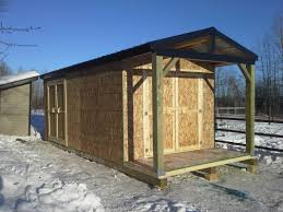 Wood Storage Sheds 10 X 20 by Northern Storage Sheds Fort St John British Columbia Home