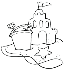 Beach Coloring Pages For Adults Summer Sheets Summertime Toddlers Page Full Size