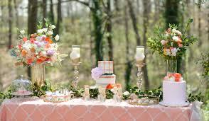 Romantic Outdoor Wedding Dessert Table Inspiration 5