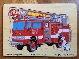 100 Melissa And Doug Fire Truck Puzzle Find More Wooden For Sale At Up