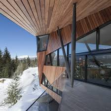 100 Patkau Architects Hadaway House Country House Of Unusual Shape In Canada From