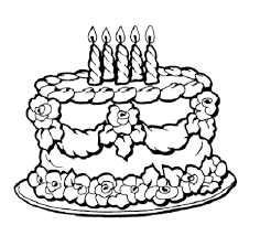 Minecraft Cake Coloring Pages Printable Pictures Of Birthday Cakes And Balloons Free Full Size