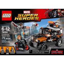 100 Modern Marvels Truck Stops LEGO Super Heroes Crossbones Hazard Heist 76050 Walmartcom
