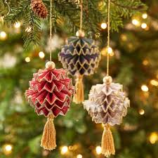 Pine Cone Christmas Tree Decorations by Craft Smart Mini Glue Gun Low Temp Christmas Paper Diy