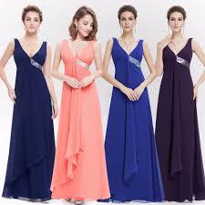 women s long evening dress formal bridesmaid wedding ball gown