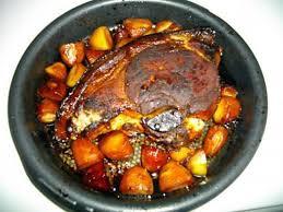 cuisiner la rouelle de porc recette de rouelle de porc caramélisée