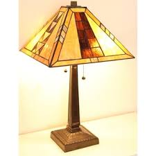 Tiffany Style Glass Torchiere Floor Lamp by Tiffany Style Aztec Mission Floor Lamp Free Shipping Today