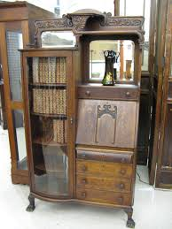 Antique Secretarys Desk by Furniture Classic Secretary Desk With Hutch And Drawer For