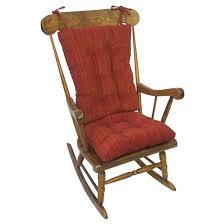 100 Greendale Jumbo Rocking Chair Cushion Shop Polar Garnet Red XL Universal Set Free Shipping