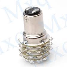 2x t25 1157 white 36 led car turn brake light bulb l