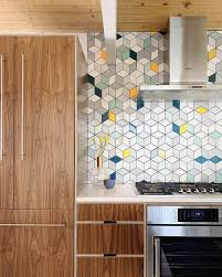 Modern Tile Backsplash Ideas For Kitchen 10 Ways To Incorporate Tile Into Mid Century Modern