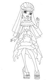 Monster High 13 Wishes Coloring Pages