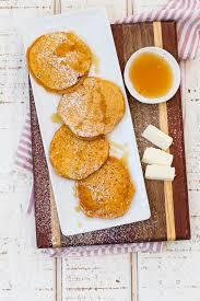 Bisquick Pumpkin Puff Pancakes by Sweet Potato Pancakes Stack Weelicious