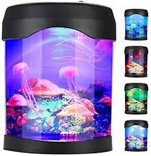 usb jellyfish l elektrischer aquarium tank mood light led quallen lava le mit farbwechsel für wohnzimmer home schlafzimmer desktop