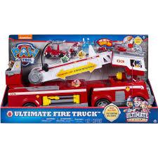 100 Fire Trucks Toys Paw Patrol Rescue Truck