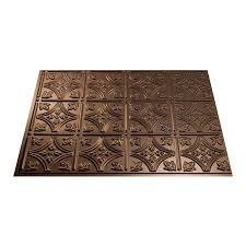 shop fasade 18 5 in x 24 5 in rubbed bronze thermoplastic