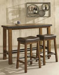 Intercon Furniture Taos Pub Table In Canyon Brown By Dining Rooms Outlet