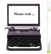 machine à écrire moderne images stock image 37145404