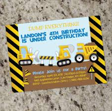 Dump Truck Construction Party Invitation - With Or Without Photo ... 9 Of The Best Kids Birthday Party Ideas Gourmet Invitations Cstruction Invite Dumptruck Invitation 5x7 Free Printable Cstruction Invitations Idevalistco Tandem Dump Trucks For Sale Also Truck Safety Procedures And Gmc 25 Digger Fill In 8th Card Luxury Boy Tonka Classic Toy Amazoncouk Toys Games Transportation Train Invite Car Play Everyday Mom