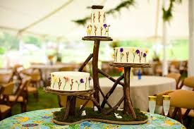 Image Of Rustic Wedding Cake Table Ideas