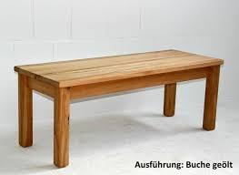 massivholz sitzbank 160cm kernbuche oder wildeiche geölt eßzimmer bank küchen