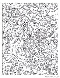 Dover Paisley Designs Coloring Book By Alise DOr