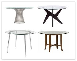 splurge vs steal glass top dining tables