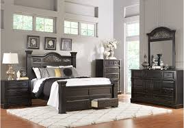 Cindy Crawford Bedroom Furniture by Shop For A Bedford Heights King Dark Cherry 5pc Sleigh Bedroom At