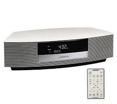 bose wave radio ii with fm amtuner alarm clock and remote control