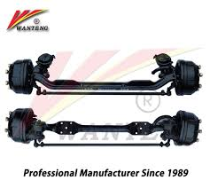 100 Truck Axles Front Steer Axle With Solid Forging Axle Beam Buy