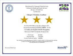 Ky Labor Cabinet Division Of Employment Standards by Gca U2013 Glasgow Christian Academy