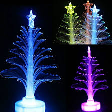 Fiber Optic Christmas Trees On Sale by Christmas Decoration Supplies White With Built In Battery Led