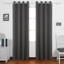 amazon com deconovo blackout curtain kitchen window curtains