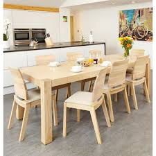 The Olten Light Oak Dining Table And Matching Chairs Would Make A
