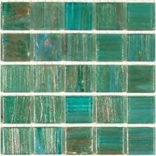 green clear turquoise iridescent glass tiles 19 sheet size 12