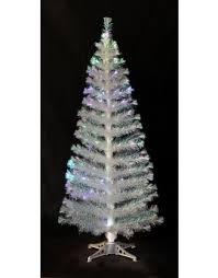The 6ft Iridescent Fibre Optic Tinsel Tree