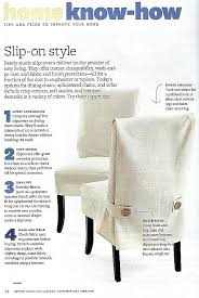 Sew Dining Chair Covers Couch Slipcover No