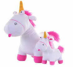 Despicable Me Fluffy Unicorn Plush Toy For Kids