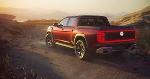 Volkswagen's Atlas Tanoak Concept Is A Short-bed Pickup Truck Dream ...