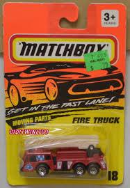 100 Fire Truck Parts MATCHBOX 1994 MOVING PARTS FIRE TRUCK 18 E 0014555 557