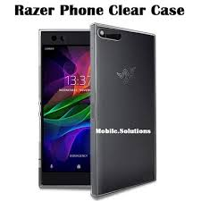 Razer Phone Clear Transparent TPU Case Anti Water Marks