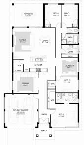 House Plan 4 Bedroom 3 Bath Awesome 4 Bedroom House Plans & Home