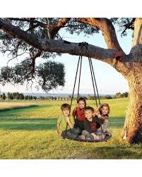 Outdoor Hanging Chair Large Hammock Net Round Swing Kit SPPYY