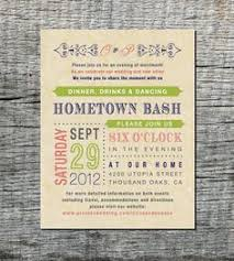 Backyard Wedding Invitation Wording Post Reception With Rustic Invitations