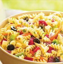salade de pâtes au jambon recettes de cuisine italienne