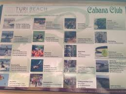 Turi Beach Resort Activity Price List