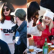 Nick Jonas Priyanka Chopra Travel With Joe Jonas Sophie Turner